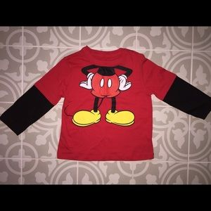 Disney Mickey Mouse shirt size-3t
